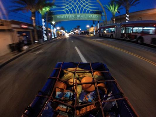Cruising East L.A. Before Dawn