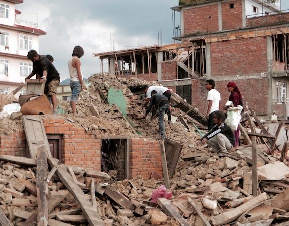 The Destruction in Nepal Is Sickening.