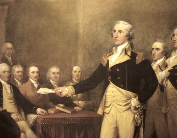 George Washington's Deep Self-Doubt