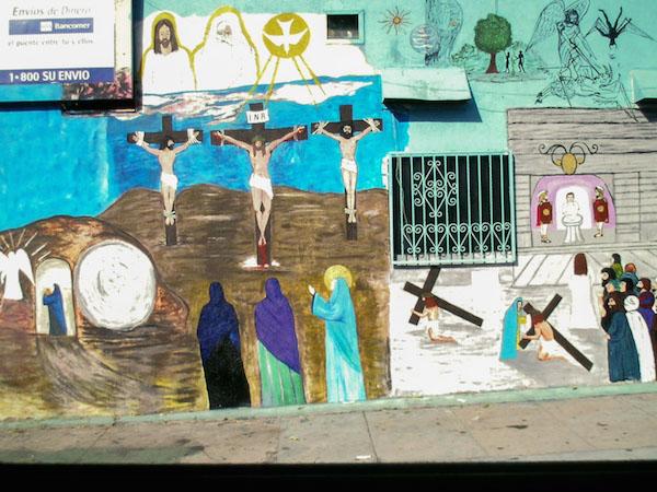 El Toro Meat Market, 3171 Cesar Chavez, Los Angeles, 2004, Manuel G. Cruz, artist.