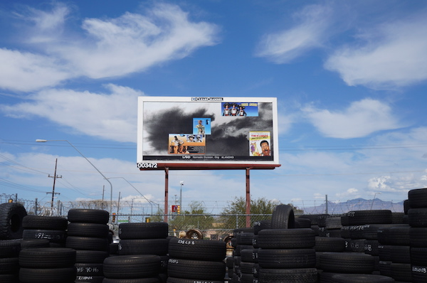 Bobbi Woods, 10 billboards, Tucson, AZ, 2015.