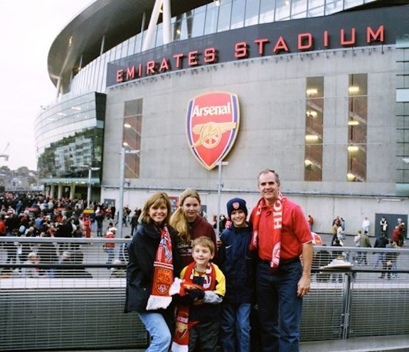 Arsenal Fever Is a Transcontinental Malady