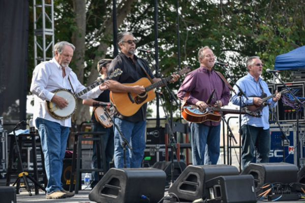 Damascus Road Bluegrass at Huck Finn Jubilee by Marjorie Hernandez KCRW