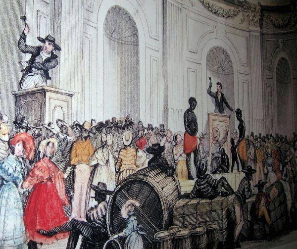 Rothman slave auction KCRW