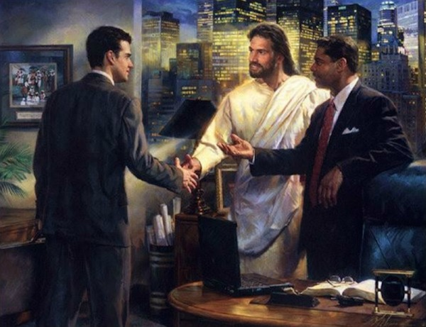 Smith jesus as CEO KCRW