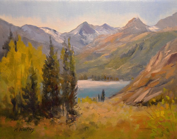Winters-MAIN-South-Lake-Bishop-oil-painting-2013-with-water-K-Winters-600x471