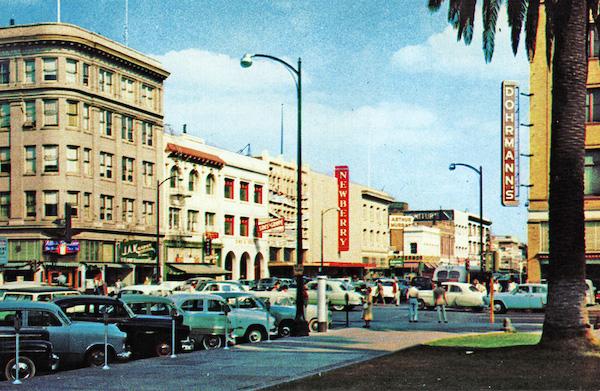 Washington postcard of Stockton-2