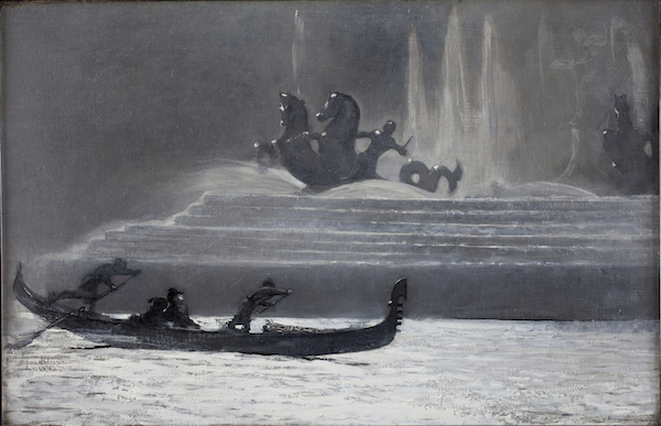 The Fountains at Night, World's Colombian Exposition, 1893, by Winslow Homer. Bowdoin College Museum of Art, Brunswick, Maine.