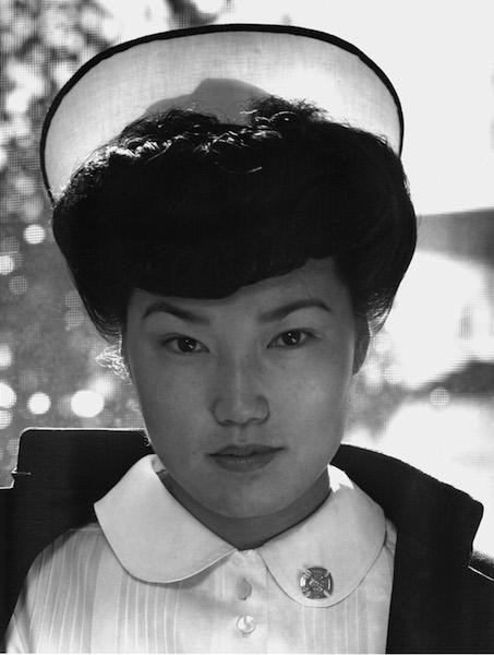 Ansel Adams, Aiko Hamaguchi, Nurse, 1943