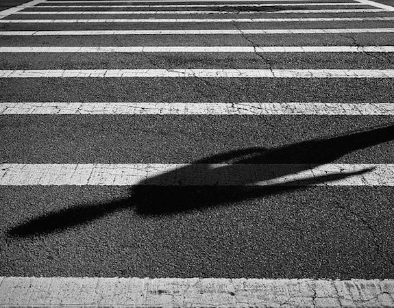 I saw a woman decaying on the street / Not waiting for her light … #poem