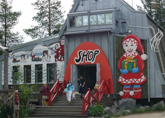 Where Does Santa Call Ho-Ho-Home?
