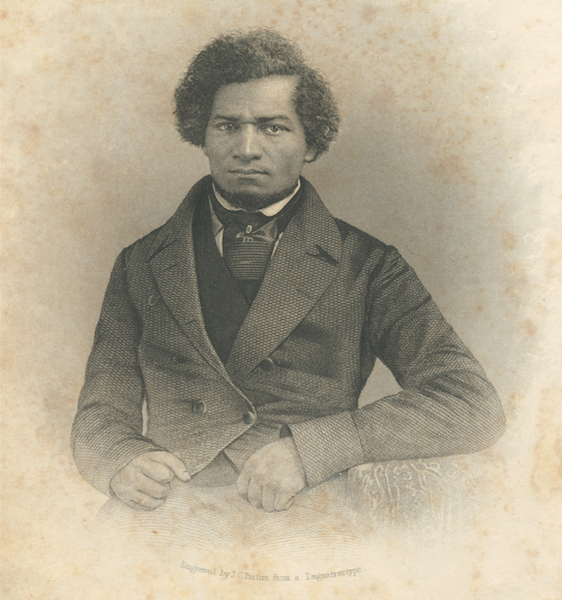 Stauffer Frederick Douglass Lead Piece