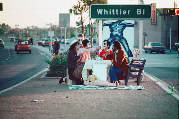 """Harry Gamboa Jr., """"First Supper (After a Major Riot),"""" 1974"""