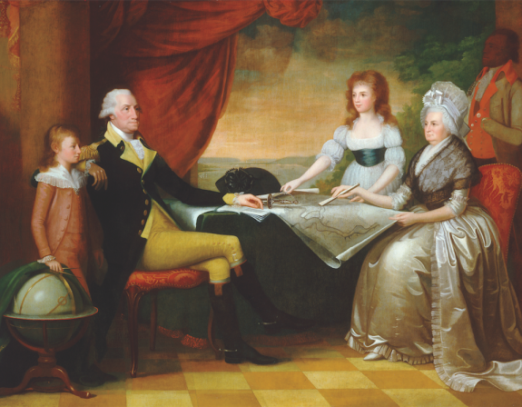 Before Bill and Hillary, There Was George and Martha