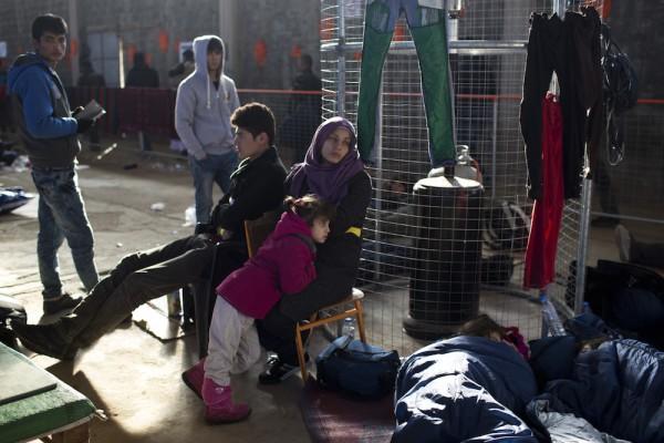 Greece Migrants Weathering The Storm