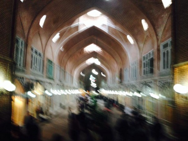 Tabriz Bazaar, the largest covered bazaar in the world and one of Iran's UNESCO world heritage sites