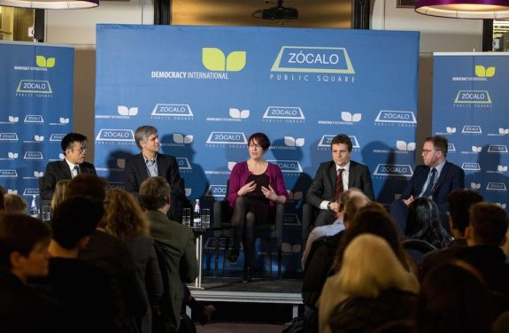 Last Night at London's Royal Institution, Zócalo on Britain's Place in Europe