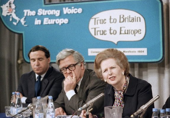 How Margaret Thatcher Fell Down the European Rabbit Hole