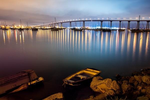 Coronado Bridge at Night