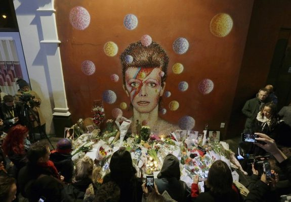 Facebook Sharing our Grief for Bowie and Prince Echoes Ancient Greek Mourning Rituals