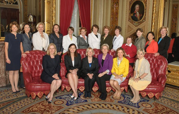 Female Senators Portrait