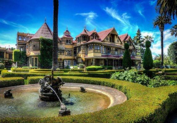 San Jose's Insane Winchester Mystery House Was Always Meant to Be Haunted