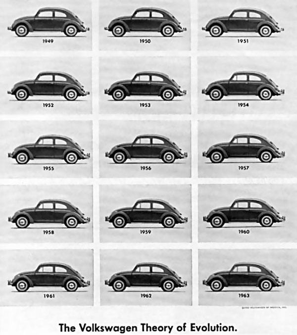 In the 1960s, Volkswagen and agency Doyle Dane Bernbach rolled out a series of iconic full-page print ads.