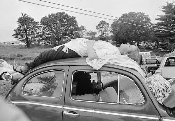 Among the remaining photos of the crowds at 1969's Woodstock Music & Art Fair, it's difficult to find one that doesn't have a VW in the frame.