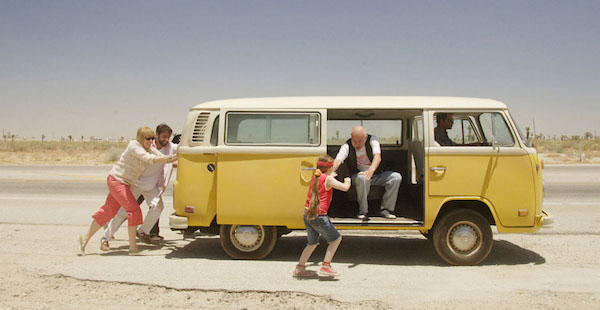 In 2006's sleeper hit Little Miss Sunshine, the Hoover family piles into a VW bus to upend a beauty pageant in Southern California.