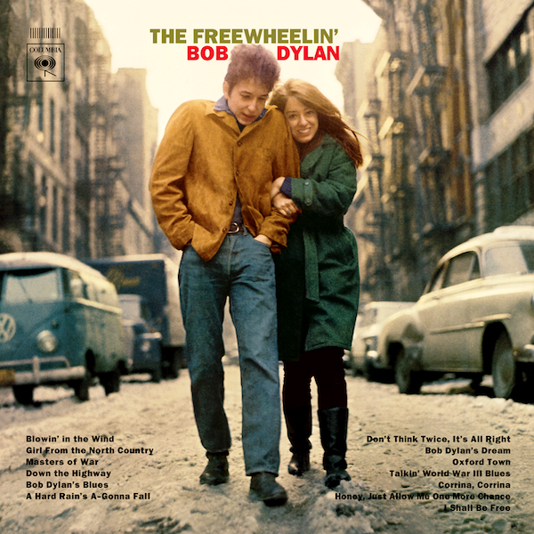 Volkswagen made an early and appropriate appearance on the American folk scene via Bob Dylan's The Freewheeling' album in 1963.