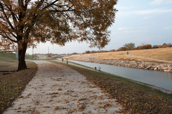 Kids Running, November 21, 2013.