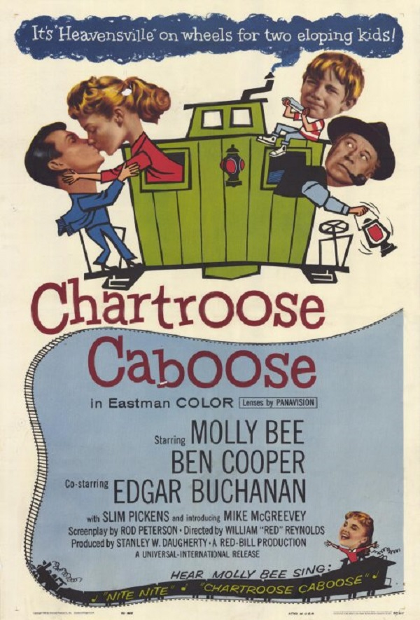 Poster for the 1960 film Chartroose Caboose.