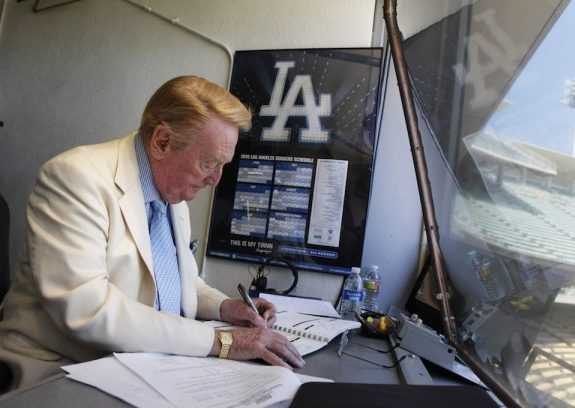 Why More Californians Should Retire Like Dodgers Announcer Vin Scully
