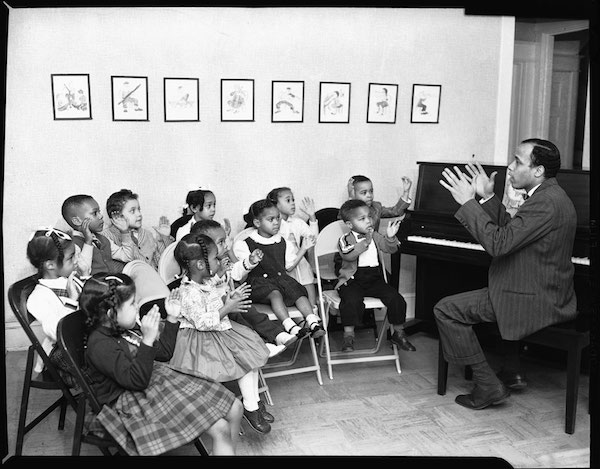Goins Music School Group, February 1960.