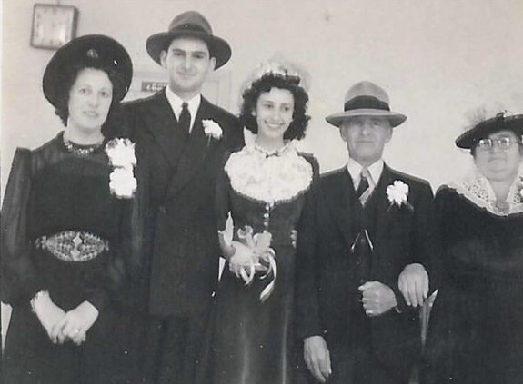 My Parents' Wedding Portrait Captures Our Family Just Before WWII Changed Everything