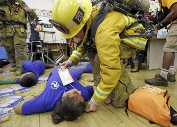 Why Volunteering for Harrowing Disaster Drills Helps Me Sleep at Night