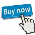 hand cursor on buy button