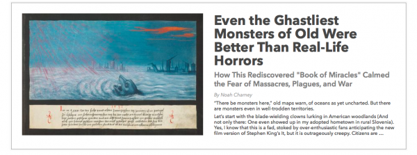 the real monster in the novel essay
