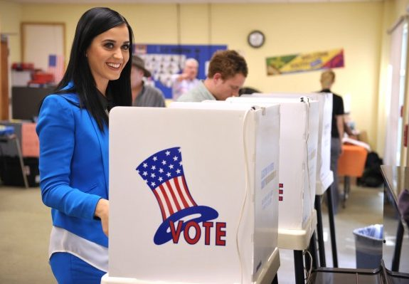 It Takes More Than a Naked Katy Perry to Get Out the Vote