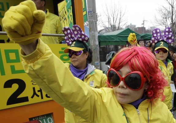 How Voting Selfies Brought Down South Korea's Conservative Majority