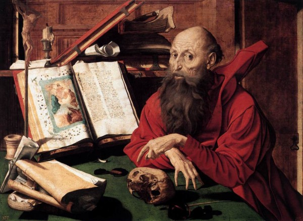 Saint Jerome in his Study.