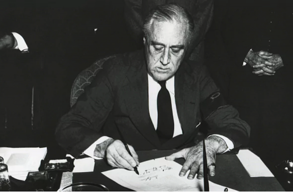 Franklin D. Roosevelt's Act of Infamy Against Japanese Americans