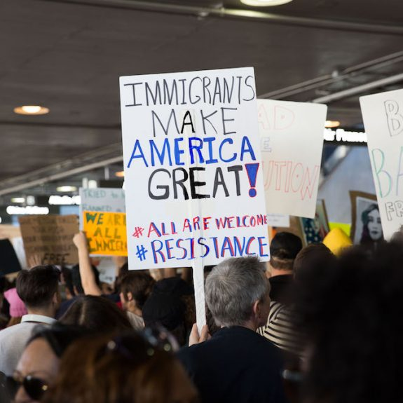 How Airports Became the Battleground for Deciding Who Belongs in America