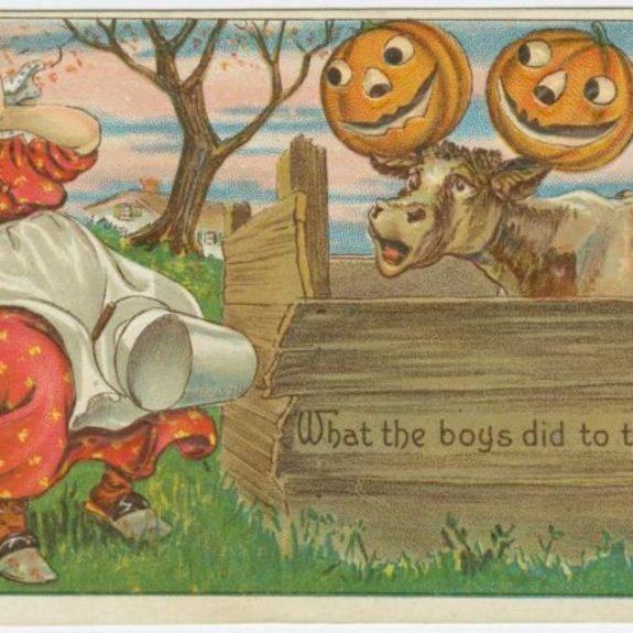 When Halloween Mischief Turned to Mayhem